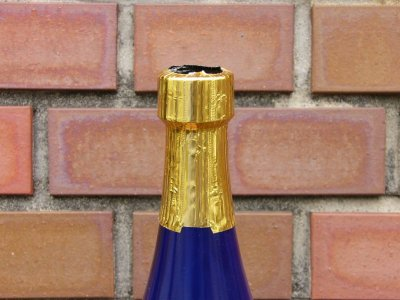 画像2: 一升瓶キャップシール(首長)■25枚組■